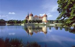 Drážďany a zámek Moritzburg -