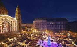 Maďarsko - předvánoční Budapešť -