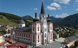 Mariazell, soutěska Wasserlochklamm a Ötscheru -