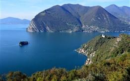 Lago di Garda a Lago d'Iseo -