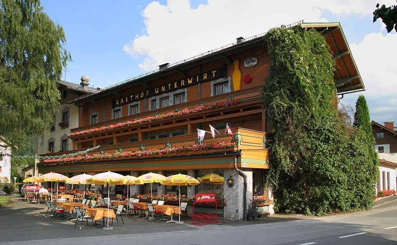 Velikonoční lyžování v Rakousku - Maishofen - penzion Unterwirt a jeho depandance -
