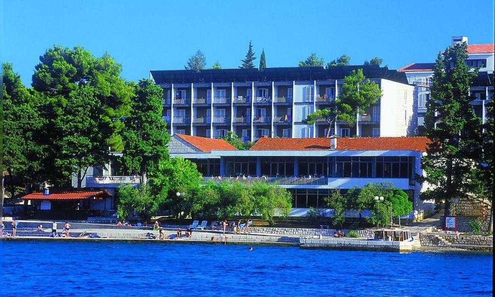 Hotel Park - parková strana -