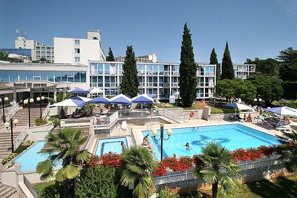 Hotely Fortuna*** Poreč -