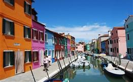 Romantika Benátek a ostrovů v laguně -