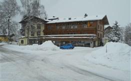 Lyžování v Rakousku - Maishofen - penzion Unterwirt a jeho depandance -
